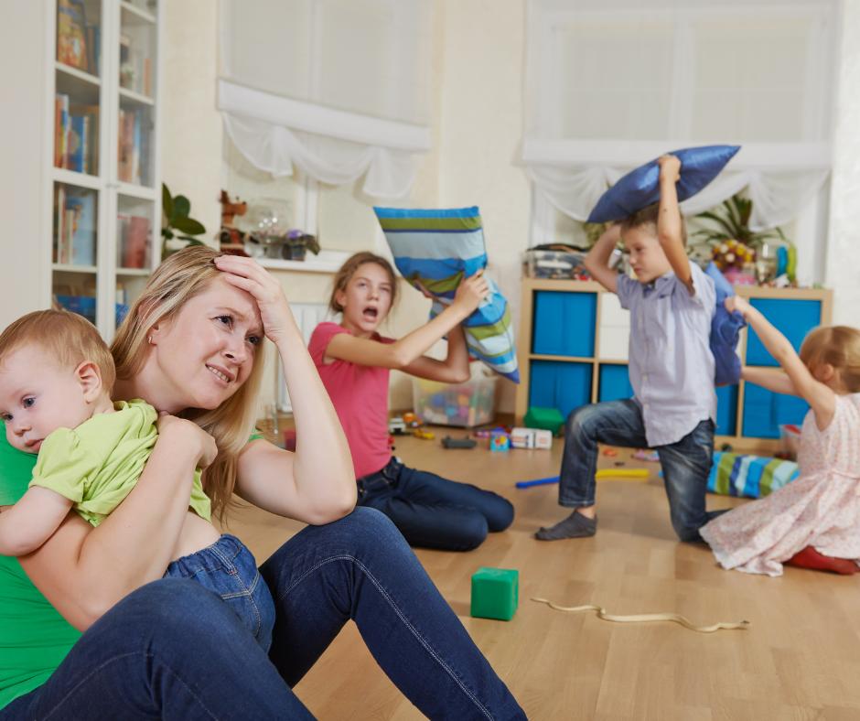Esgotamento dos pais: fadiga associada ao cuidar dos filhos