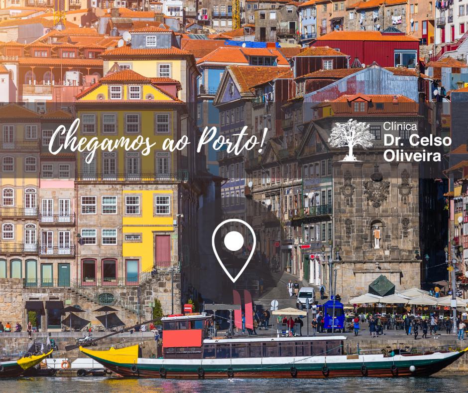 Chegamos ao Porto!